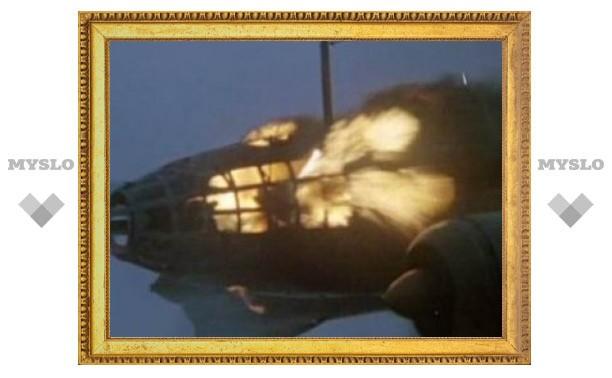 Иранский пассажирский самолет загорелся в воздухе