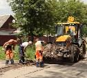 В Туле на ул. Зои Космодемьянской приступили к ремонту дорог