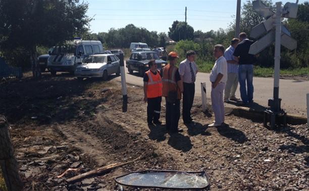 ДТП с поездом в Узловском районе: водитель ВАЗ-2102 был трезв