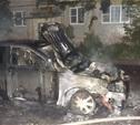Ночью в Пролетарском районе неизвестные сожгли «Тойоту»