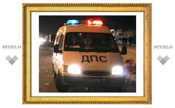 """Под Тулой """"Калина"""" протаранила грузовик"""