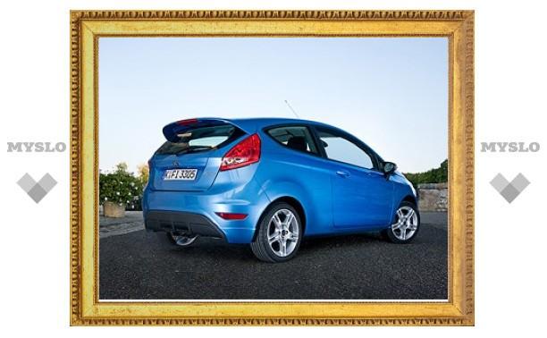 Хэтчбеки Ford Fiesta обновятся к 2012 году