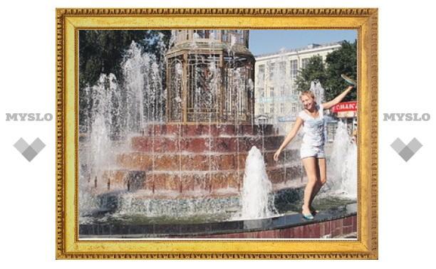 Летом на улицах Тулы заработают 40 фонтанов
