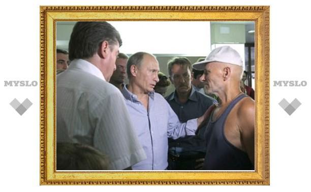 Путину понадобились передвижные камеры на пепелищах