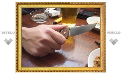 Под Тулой сын пырнул отца ножом в живот