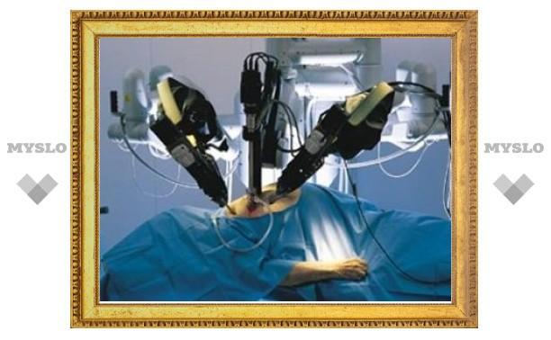 В России впервые удалили долю печени с помощью робота-хирурга