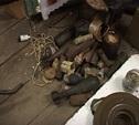 """Полиция и УФСБ изъяли у """"черных копателей"""" крупную партию оружия времён войны"""