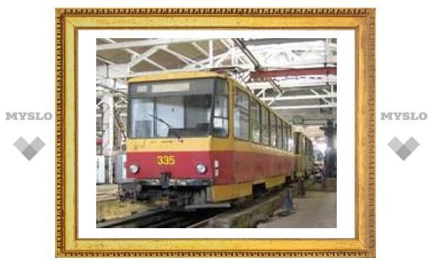 Из-за ДТП в Туле изменилось движение трамваев