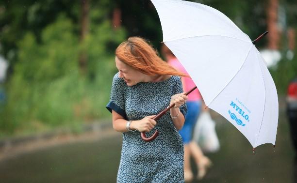 3 августа в Тульской области ожидаются грозы, ливни и сильный ветер