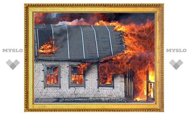 В День Победы под Тулой сгорела дача