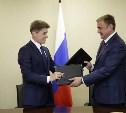 Алексей Дюмин подписал соглашение с губернатором Сахалинской области