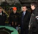 Врио губернатора Тульской области Алексей Дюмин посетил Алексинский химкомбинат