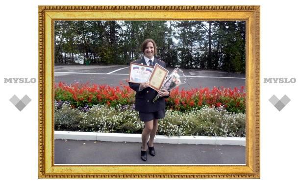 Тульский инспектор по делам несовершеннолетних стала лучшей в России по физподготовке