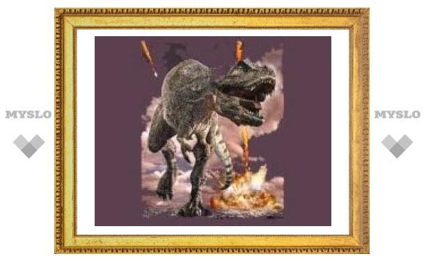 Динозавры вымерли от взрыва нефти