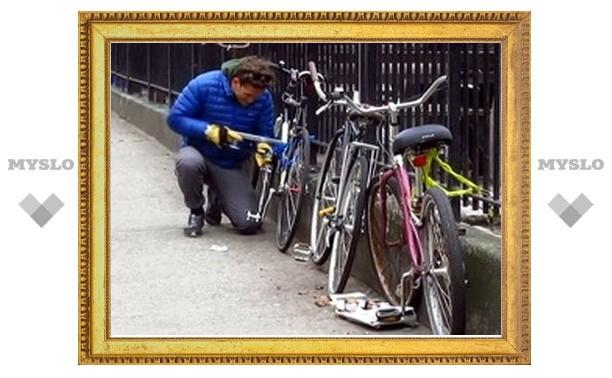 Под Тулой поймали угонщиков велосипедов
