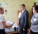 Алексей Дюмин посетил Одоевский дом-интернат для престарелых и инвалидов