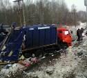 В Суворове мусоровоз столкнулся с поездом: возбуждено уголовное дело