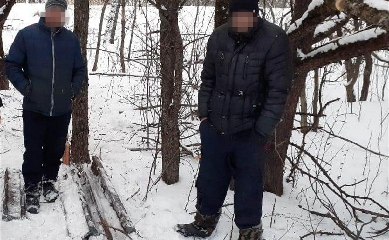 В Тульской области двое мужчин украли 96 метров железнодорожных рельсов