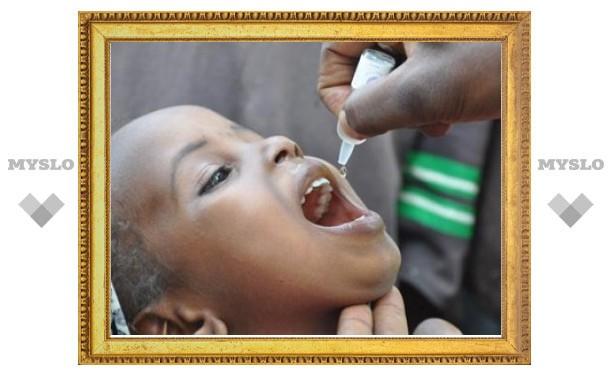 В Африке началась беспрецедентная прививочная кампания против полиомиелита