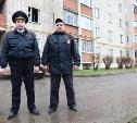 В Заокском полицейские спасли из горящего дома 17 человек