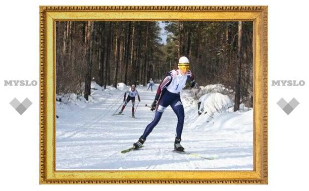 Тульские лыжники завершили сезон весенней гонкой