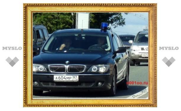 Попавший в ДТП автомобиль Минобороны объявлен в розыск