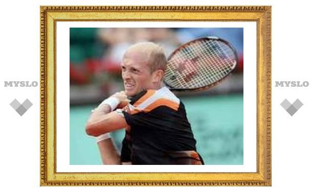 Давыденко вышел в полуфинал Открытого чемпионата Франции