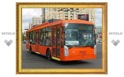 Туляки будут ездить на новых троллейбусах