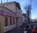 На ул. Октябрьской развалился двухэтажный дом