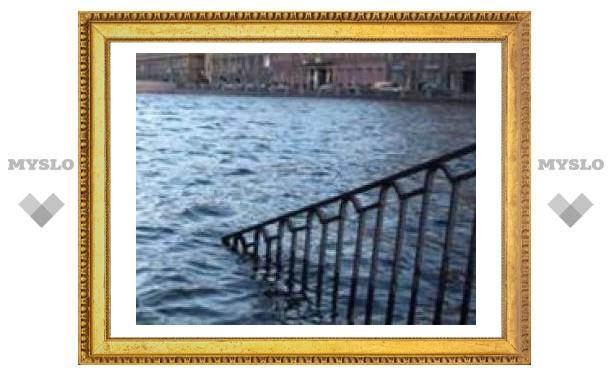 Уровень воды в Неве поднялся на 190 сантиметров выше ординара