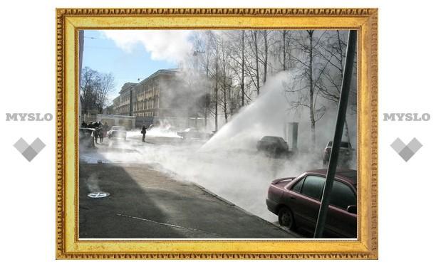 В Новомосковске прорвало более сотни труб