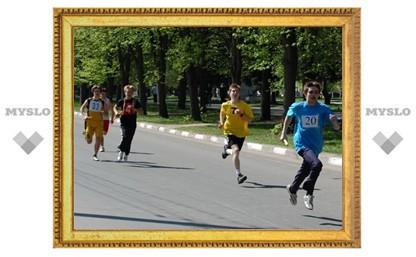 В Новомосковске прошла городская эстафета