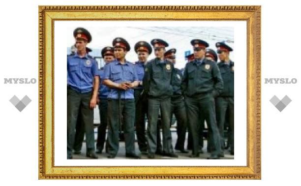 Тульским милиционерам повысят зарплату