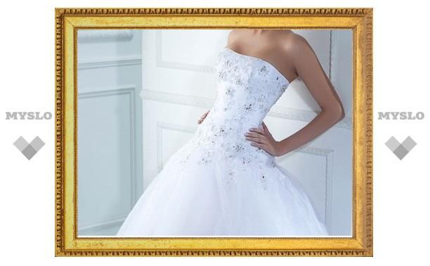В Тульской области невеста хотела идти под венец в ворованном платье
