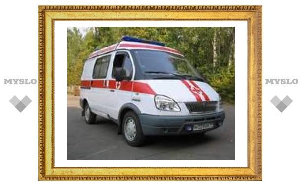 В аварии в Тульской области пострадал 3-летний ребенок
