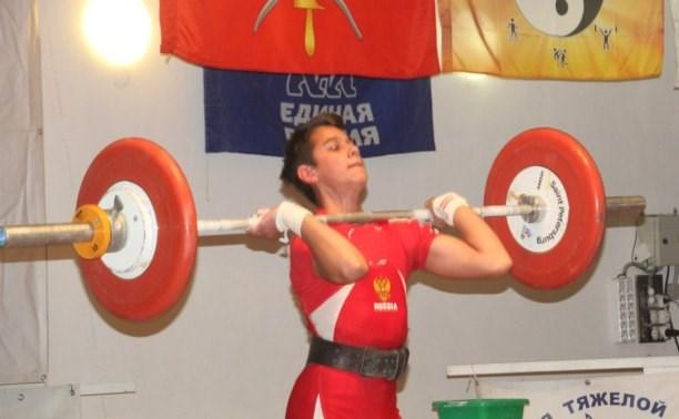 Тульские тяжелоатлеты стали призёрами финала летней Спартакиады спортшкол в Саранске