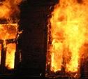 В Кимовском районе полностью выгорел частный дом