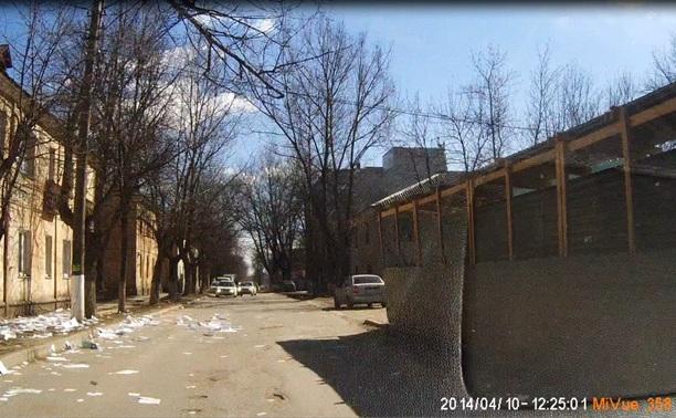 Страховая компания выбросила документы клиентов на улицу в Заречье