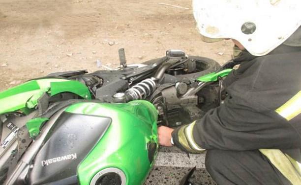 В Узловой в результате ДТП пострадали женщина-водитель и мотоциклист