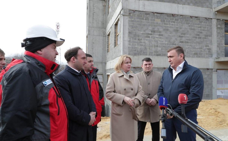 Строительство нового корпуса перинатального центра в Туле завершится к концу года