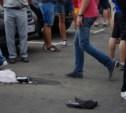 После драки у стадиона раненого болельщика «Динамо» госпитализировали