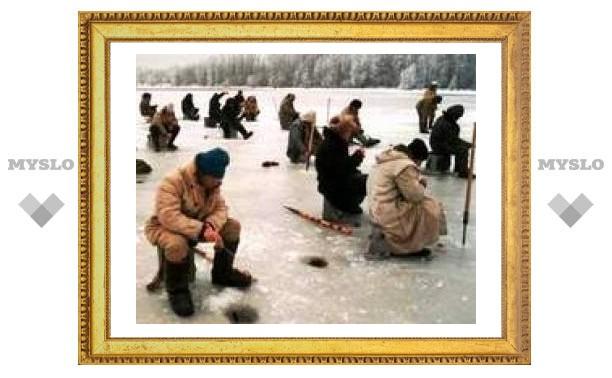 Туляки, не спешите уходить под лед!