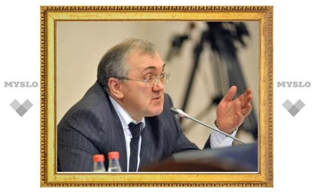 Владимир Груздев встретился с заместителем министра обороны РФ