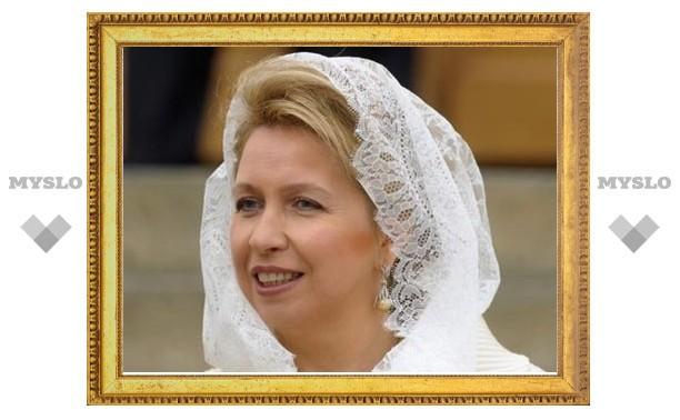 Светлана Медведева преподнесла в дар новому храму в Сестрорецке старинную икону