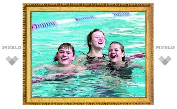 Тульские пловцы показывают лучшие результаты