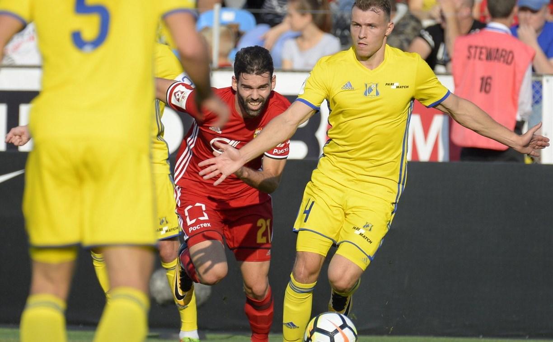 «Ростов» и «Арсенал» сыграли вничью: 2:2