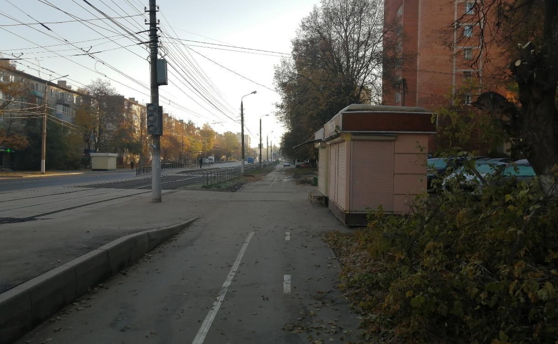 Ожидание и реальность: в Туле на ул. Металлургов появилась странная велодорожка