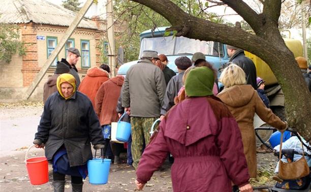 В Туле 27 и 28 марта организованы пункты раздачи воды
