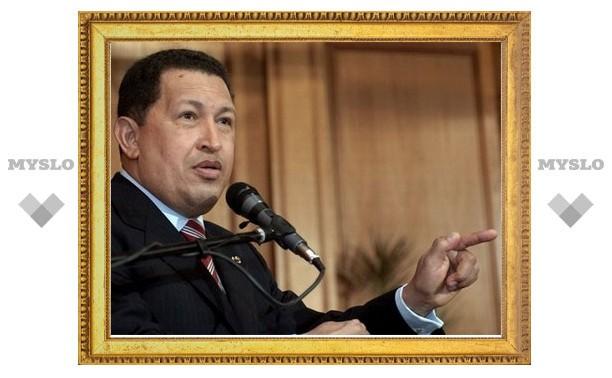 Чавес обвинил американский самолет-шпион в нарушении границы