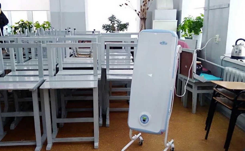 В тульские учебные заведения до 10 октября поставят обеззараживатели воздуха